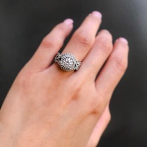 Zales Outlet 1 1/4CTW & 14KWG Engagement Ring